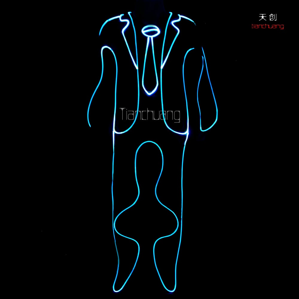 TC-0107 fiber optic costumes