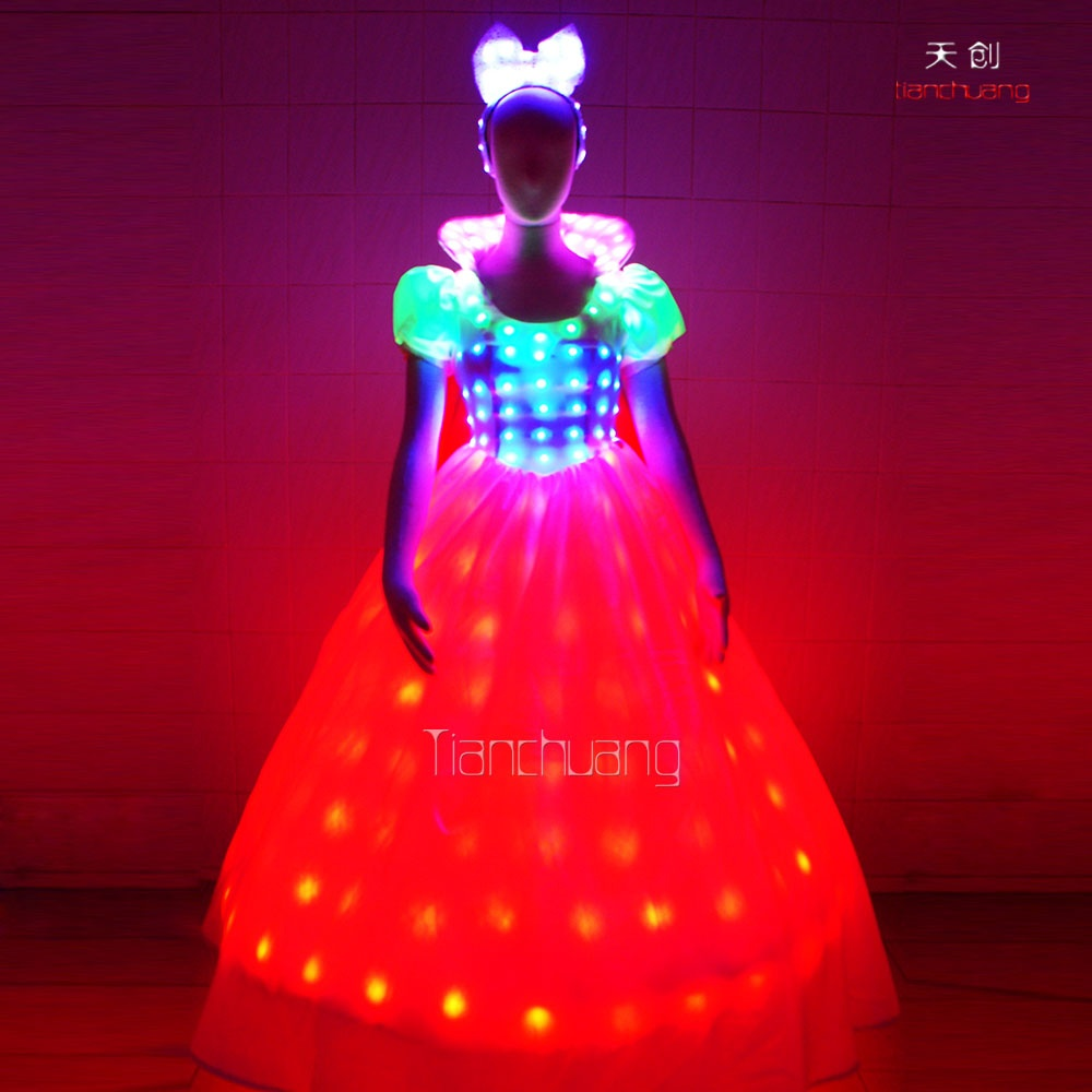 TC-055 full color led dress
