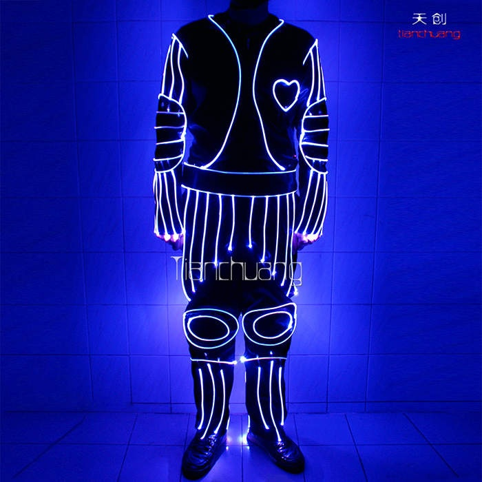 Tc-040 Full color fiber optic costumes