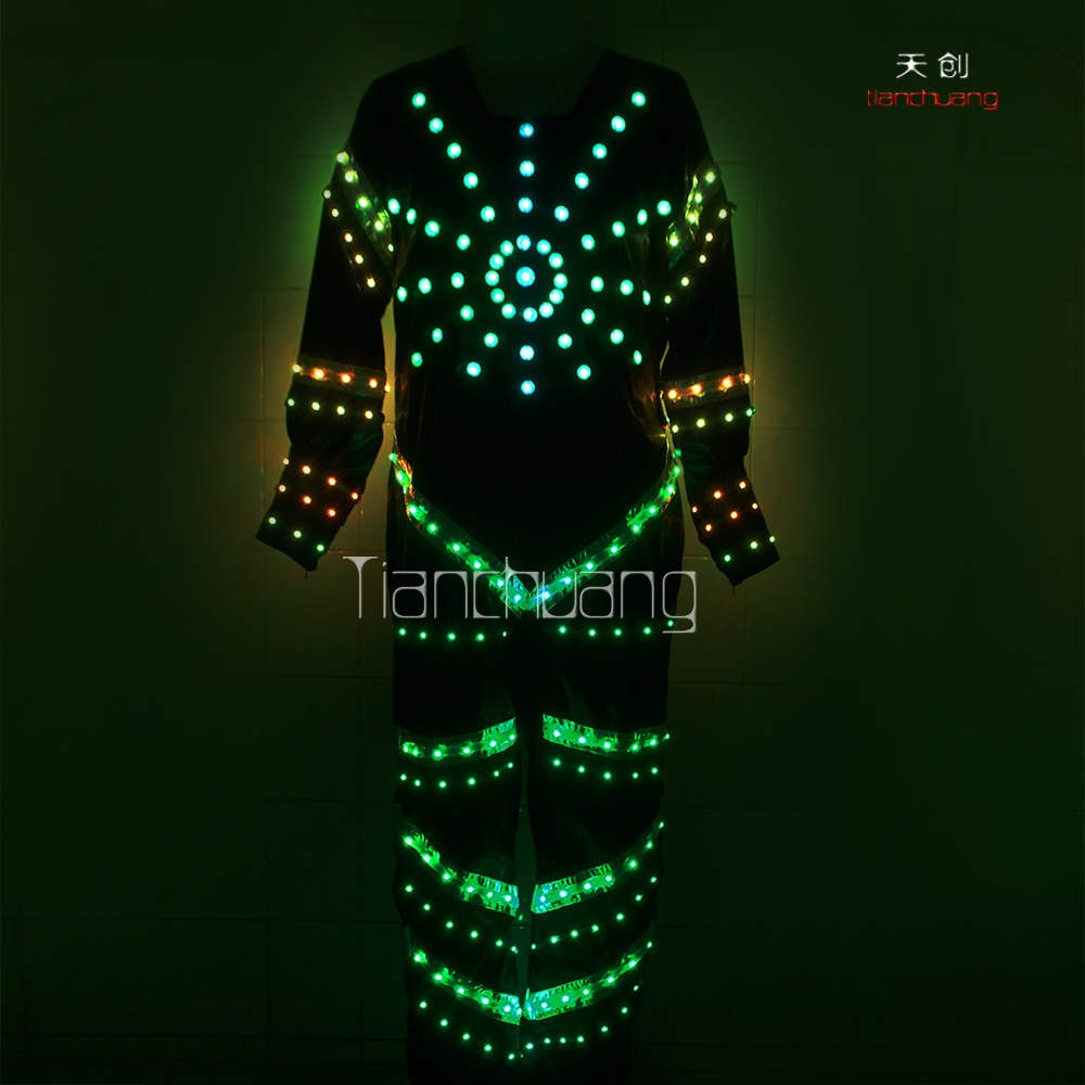 TC-015 Full color LED Jumpsuit