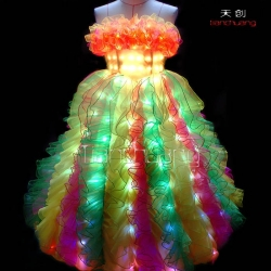 TC-006 full color led dress