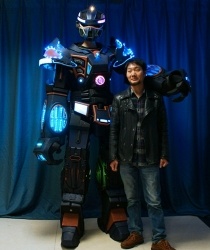 TC-01000 LED ROBOT Costume