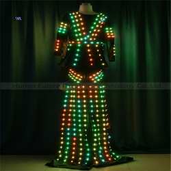 TC-0210 Full color LED dress performance costume