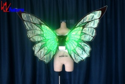 WL-0227 wireless control LED Dance Props Butterfly Wings LED Isis / Eva Wings fairy wings