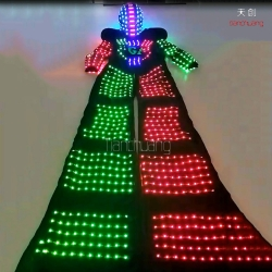 TC-0157 LED Stilts costumes