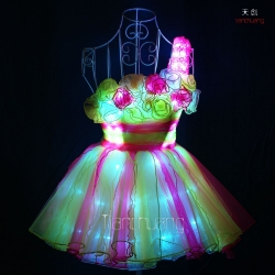 TC-0142 Rose LED Skirt