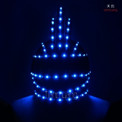 TC-0133 full color LED Helmet