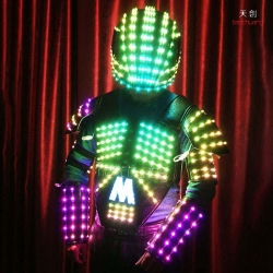 TC-0102 full color led costumes