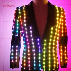 TC-019 full color LED  jacket
